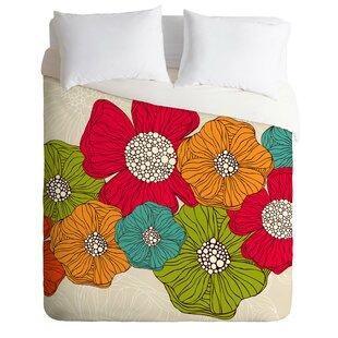 East Urban Home Flowers Duvet Cover Set