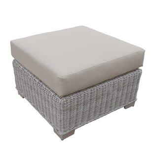 Coast Ottoman with Cushion by TK Classics