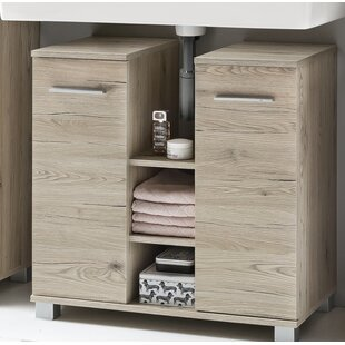 Haylee 70cm Free-Standing Under Sink Storage Unit By Zipcode Design