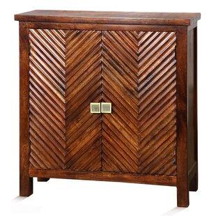Genova 2 Door Accent Cabinet by Bloomsbury Market