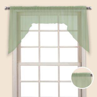 Lime Green Kitchen Curtains | Wayfair