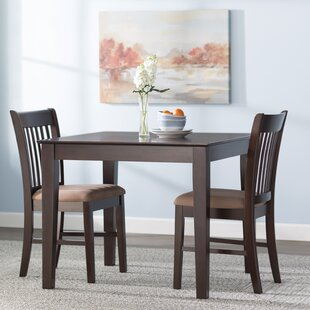 Cobleskill 3 Piece Dining Set by Alcott Hill Spacial Price