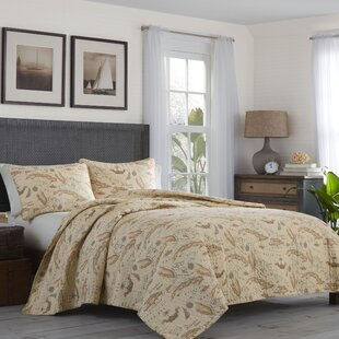 Map 3 Piece Reversible Quilt Set By Tommy Bahama Bedding. By Tommy Bahama  Home