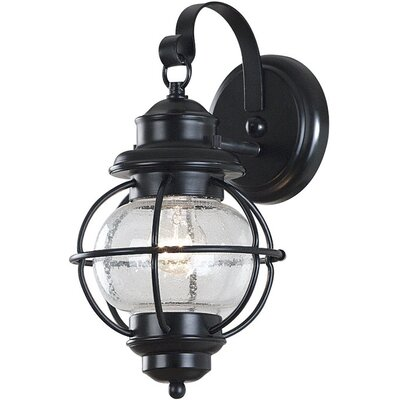 Beachcrest Home Cason 1 Light Outdoor Wall Lantern Fixture