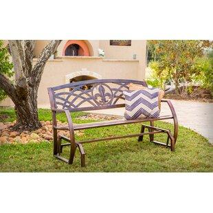 Trumann Fleur De Lis Glider Bench by Fleur De Lis Living