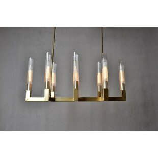 Mercer41 Kuehn 8 Light Candle-Style Chand..