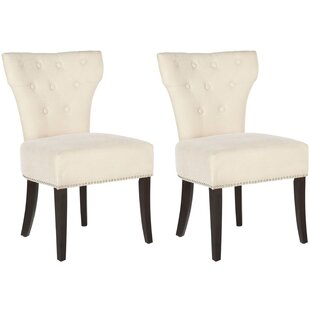 Shop For Creline Side Chair (Set of 2) by Alcott Hill Reviews (2019) & Buyer's Guide
