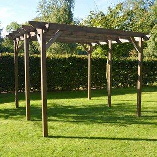 Review Randi Manufactured Wood Pergola