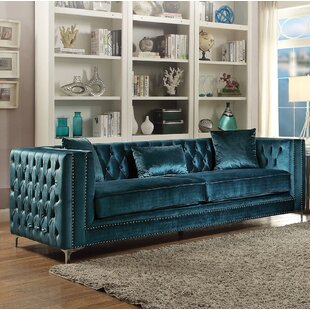 Emmer Chesterfield Sofa by Everly Quinn Great Reviews