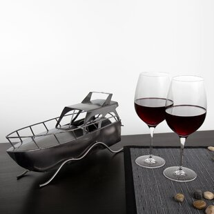 Breakwater Bay Kruger Yacht 1 Bottle Tabletop Wine Rack