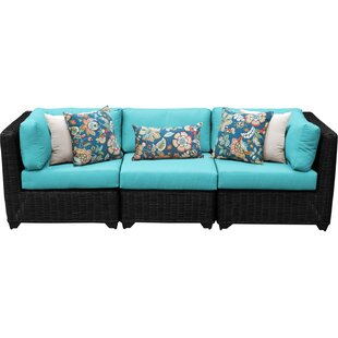 Fairfield Patio Sofa with Cushions