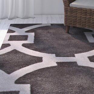 Best Reviews Arlene Black Geometric Area Rug By Mercer41
