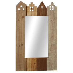 Red Barrel Studio Greenlawn House Wall Mirror
