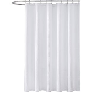 chevron godwin shower stall keyword contemporary curtain cotton modern allmodern