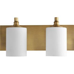 Willa Arlo Interiors Dian 2-Light Vanity Light