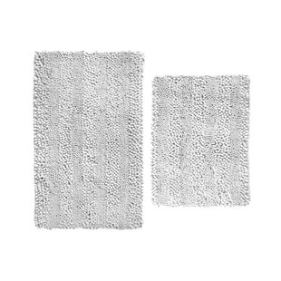 Aldante Chenille 2 Piece Bath Rug Set