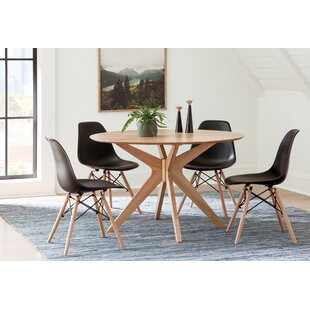 Brook 5 Piece Solid Wood Dining Set by Langley Street