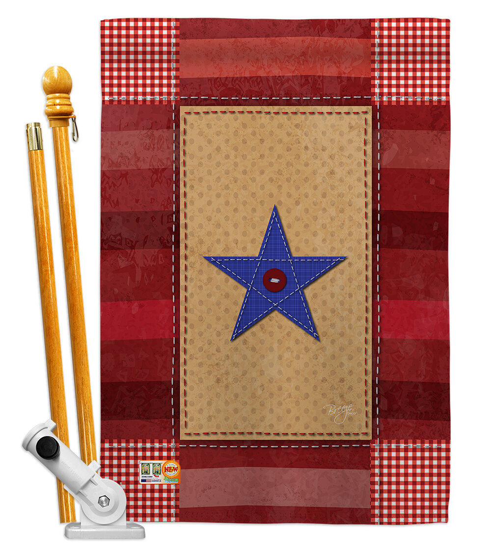Breeze Decor 2 Sided Polyester 40 X 28 In Flag Set Wayfair