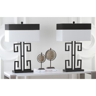 Compare & Buy Greek Key 28 Table Lamp (Set of 2) By Safavieh