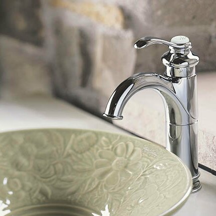 Fairfax Single Hole Bathroom Faucet With Drain Assembly