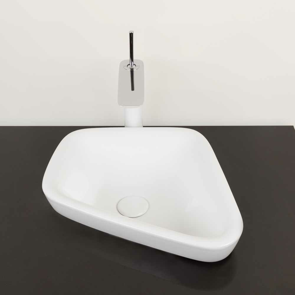 Parallel Ceramic Specialty Vessel Bathroom Sink