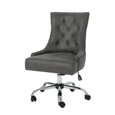 Anja Home Task Chair Color: Slate by Andover Mills