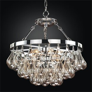 Glow Lighting Concorde 6-Light Novelty Chandelier