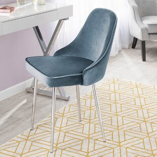 Elim Velvet Upholstered Dining Chair (Set Of 2) by Mercer41 Design