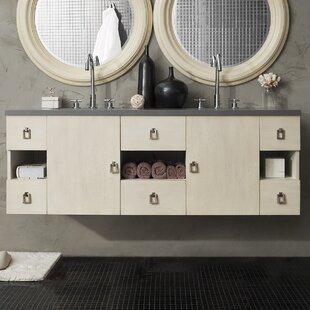 Hobbs 60 Double Bathroom Vanity Base by Ivy Bronx