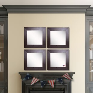 Ebern Designs Waite Wall Mirror (Set of 4)