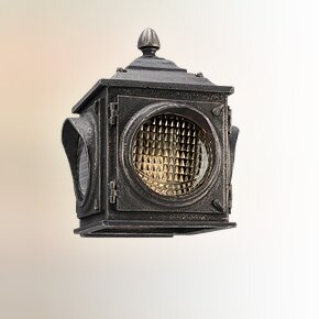 17 Stories Parimal Glass Shade Outdoor Sconce