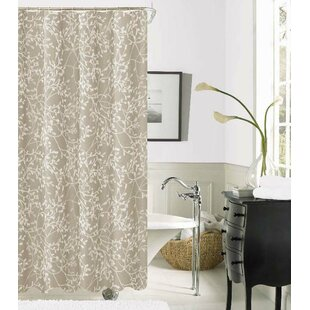 Elinor Printed Fabric Single Shower Curtain