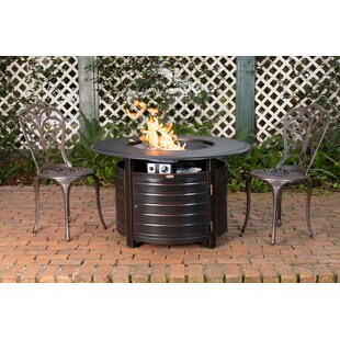 Finn Aluminum Propane Fire Pit Table