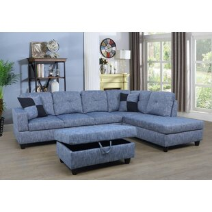 Russ Sectional with Ottoman By Andover Mills