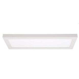 Latitude Run Dittman 1-Light Flush Mount