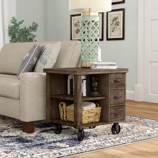 Remy End Table With Storage by Laurel Foundry Modern Farmhouse