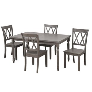 Kristopher 5 Piece Dining Set Ophelia & Co.