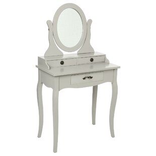 Berglund Dressing Table With Mirror By Brambly Cottage