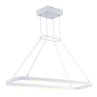 Orren Ellis Petrie 2-Light Kitchen Island Pendant