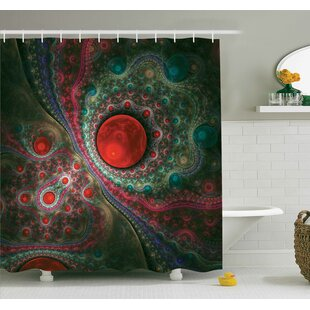 Deals Vintage Abstract Shower Curtain Set ByAmbesonne