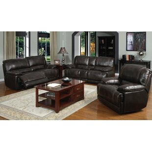 Ryland Reclining 3 Piece Living Room Set by Red Barrel Studio
