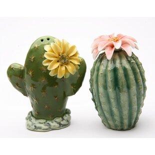 Cactus 2-Piece Salt & Pepper Set