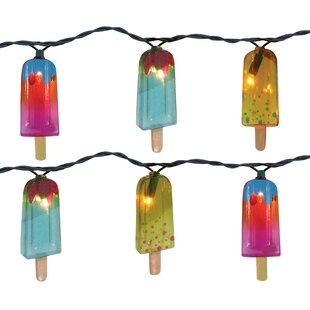 The Holiday Aisle Popsicle 10 Light Novelty String Light