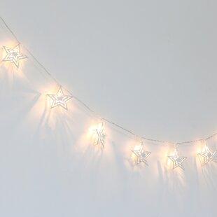 Farmhouse Twinkle Stars 67 ft. 10-Light Novelty String Light