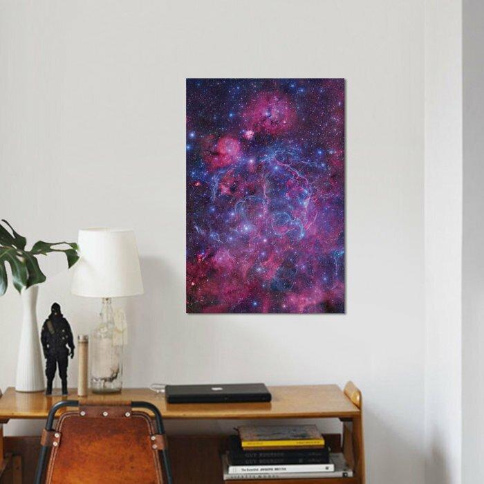 East Urban Home Vela Supernova Remnant Mosaic I Graphic Art Print On Canvas Wayfair