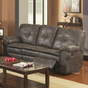 Sunset Trading Comfort Zone Reclining Sofa