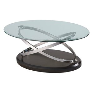 Oval Coffee Table cherry oval coffee tables you'll love | wayfair