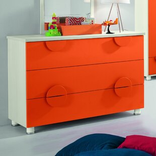 Dave Kids 3 Drawer Dresser by Zoomie Kids