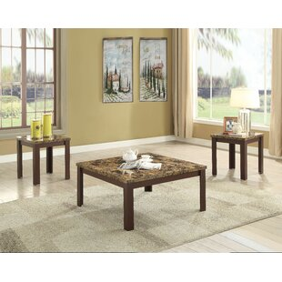 Lovisa 3 Piece Coffee Table Set