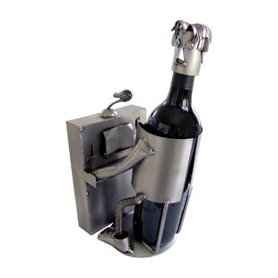 Piano Player Caddy 1 Bottle Tabletop Wine..